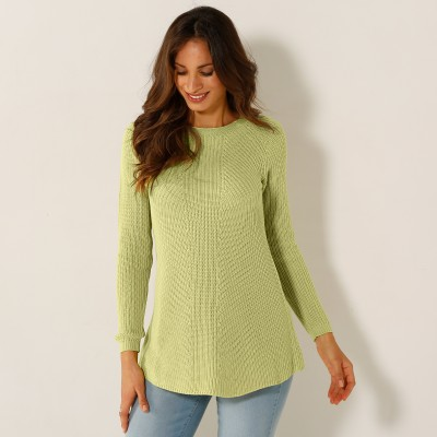 Pull lacé dos Anis: Vue 3