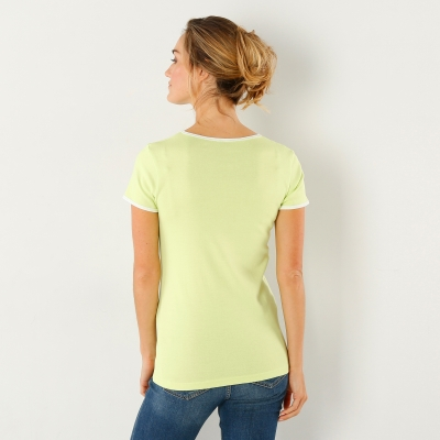 Tee-shirt manches courtes Anis: Vue 3