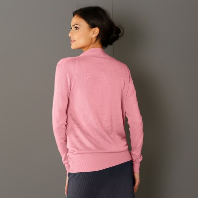 Pull cache-coeur Rose: Vue 3