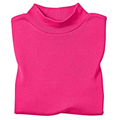 Tee-shirt col montant manches longues Framboise: Vue 3