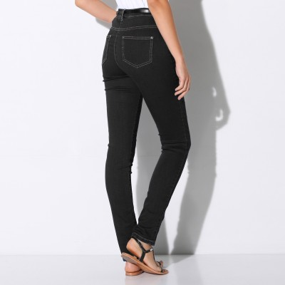 Jegging denim - grande stature Black: Vue 3