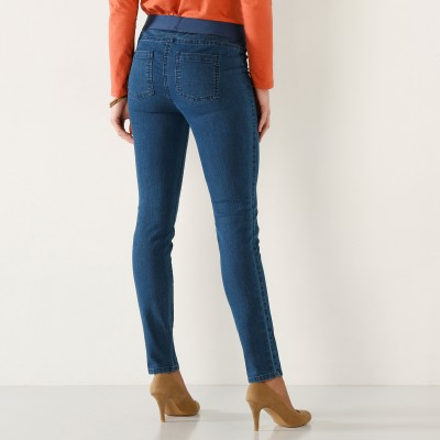 Jegging denim grande stature Stone: Vue 3