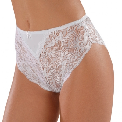 Shorty dentelle - lot de 2 2 blanc: Vue 3