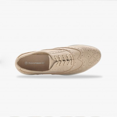 Derbies - beige Beige: Vue 3