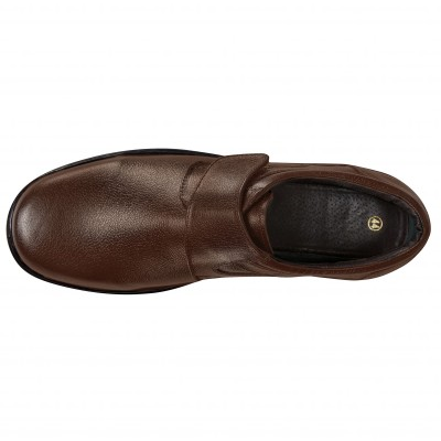 Derbies cuir Marron: Vue 3