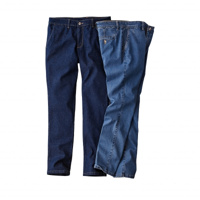 Pantalon chino denim Stone: Vue 3