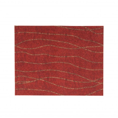 Tapis rouge toucher velours Rouge: Vue 4