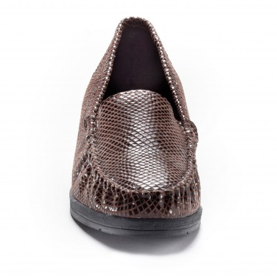 Mocassins cuir Imitation croco: Vue 4