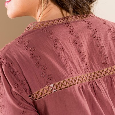 Blouse broderie anglaise Tomette: Vue 4