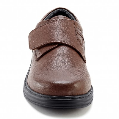 Derbies cuir Marron: Vue 4