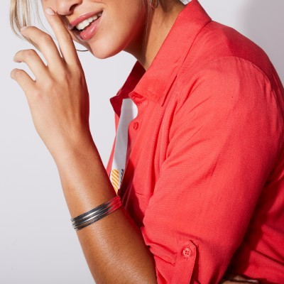 Robe-chemise - rouge Rouge: Vue 5