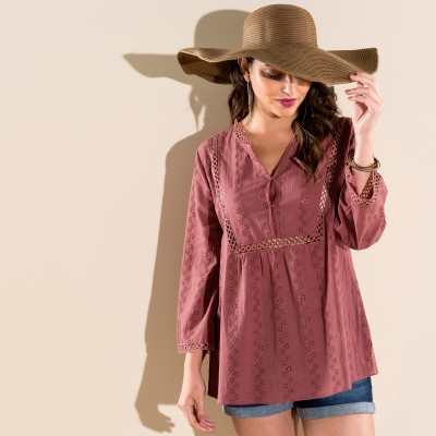 Blouse broderie anglaise Tomette: Vue 5