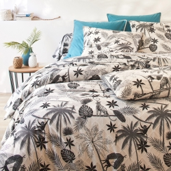 Linge de lit Jungle coton