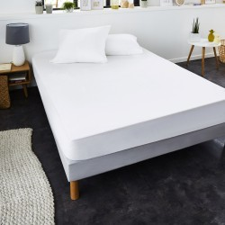 Protège-matelas anti-acariens Greenfirst® molleton absorbant