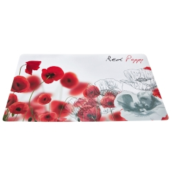 "Set de table ""Coquelicots"" - lot de 3"