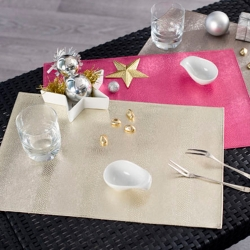 Set de table brillant - lot de 4