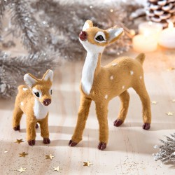 Biche décorative - lot de 2