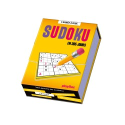 Calendrier chevalet 365 jours sudoku