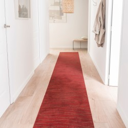 Tapis rouge toucher velours