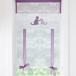 Store remontable motifs chats