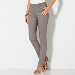 Pantalon stretch coutures affinantes