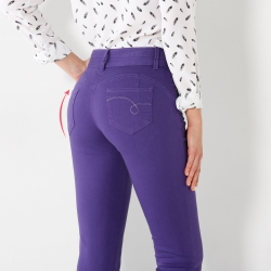 Pantalon effet push-up - grande stature