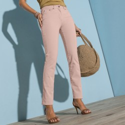 Pantalon droit bi-stretch