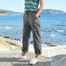 Pantalon droit battle