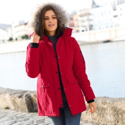 Parka multipoches «spécial froid»