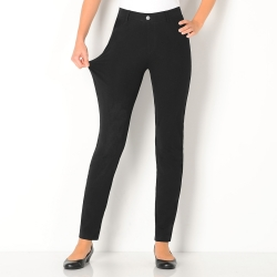 Pantalon uni maille ultra stretch