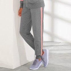 Pantalong jogging bicolore