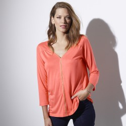 Tee-shirt viscose - uni