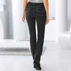 Jean droit ultra-stretch