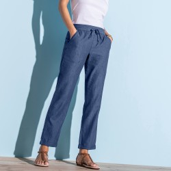 Pantalon 7/8ème denim