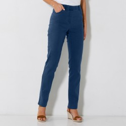 Pantalon jean stretch coutures affinantes