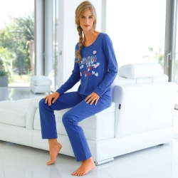 "Pyjama imprimé ""Good Morning"" - jersey coton"