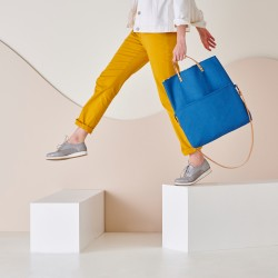 Sac shopping modifiable en besace