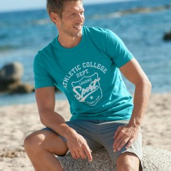 "Tee-shirt manches courtes ""Athletic College"""