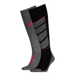 Chaussettes ski Head® Performance noir/rouge - lot de 2 paires