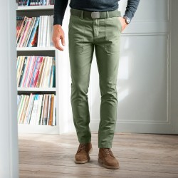 Pantalon chino style worker