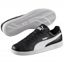 Baskets Smash lacets Puma® noir