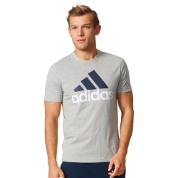 Tee-shirt Essentials gris chiné adidas®