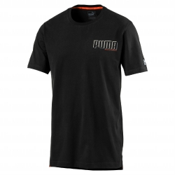 Tee-shirt manches courtes Style Athletic noir Puma®