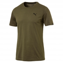 Tee-shirt manches courtes olive Essentials Puma®