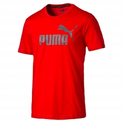 Tee-shirt manches courtes rouge Essentials Puma®