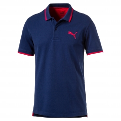 Polo marine maille piquée Active Hero Puma®