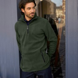 Sweat col camionneur maille micropolaire
