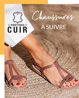 Shoppez vos chaussures en cuir pour l'été