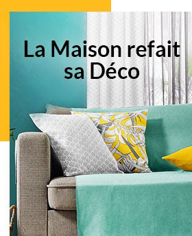 La décoration jusqu'à -70%* : shoppez la collection maison