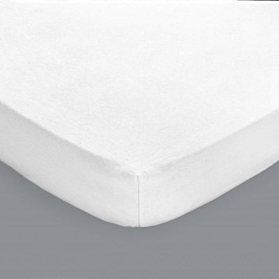 prot ge matelas molleton imperm able polyur thane housse 30 cm blancheporte. Black Bedroom Furniture Sets. Home Design Ideas